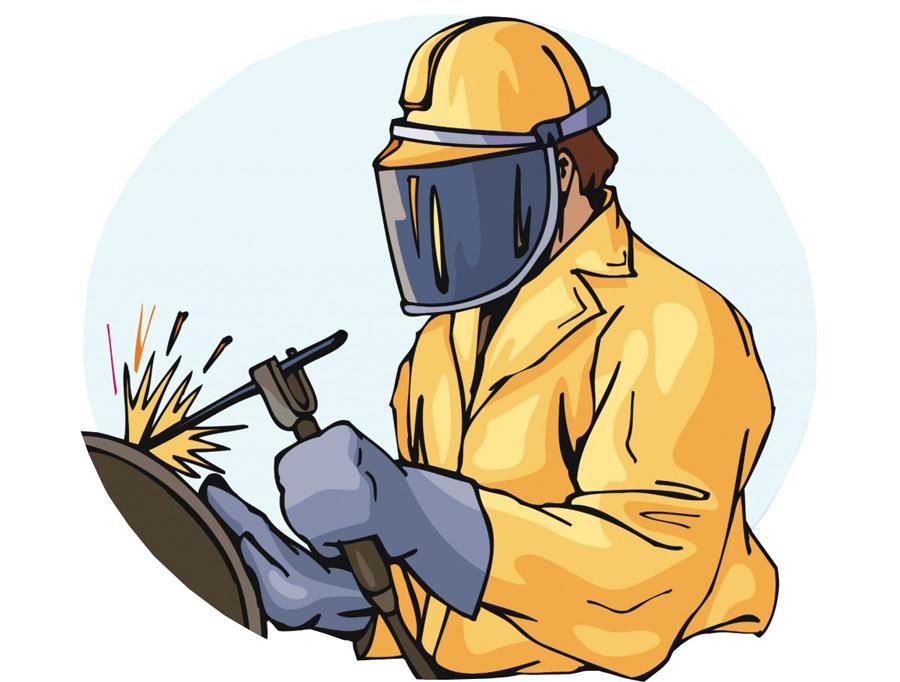 Правила при сварке наплавке и резке металлов