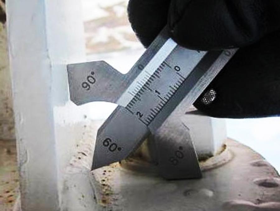 Расчет катета сварного шва от толщины металла