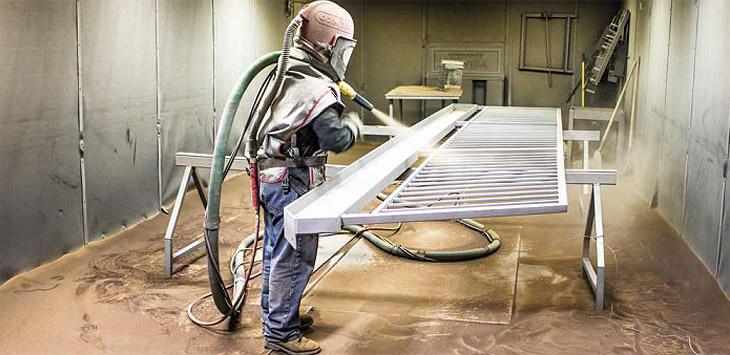 Пескоструйная обработка металла своими руками